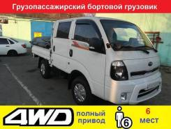 Kia Bongo. 3 Dooble Cab 4 WD, 2 497куб. см., 1 000кг., 4x4