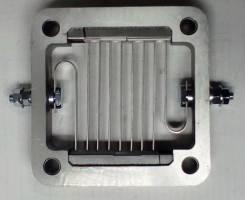 Свеча накала-спираль нагрева воздуха впуск коллектора DL08 65268037024B