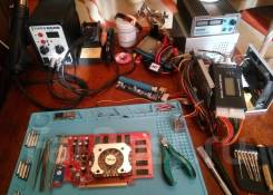Обслуживание и ремонт компьютеров. Частный мастер.