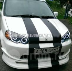 Фары тюнинг Honda HR-V диодные Черные и светлые(глазки)