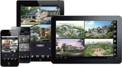 Монтаж систем видеонаблюдения и контроля доступом СКУД, ОПС