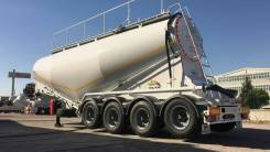 Nursan. Цементовоз 40 м3 4 оси, 48 000кг.