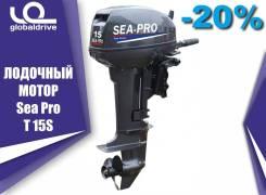 Sea-Pro. 15,00л.с., 2-тактный, бензиновый, нога S (381 мм), 2018 год