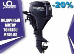 Tohatsu. 9,80л.с., 4-тактный, бензиновый, нога S (381 мм), 2019 год