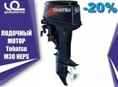 Tohatsu. 30,00л.с., 2-тактный, бензиновый, нога S (381 мм), 2019 год
