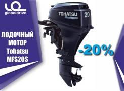 Tohatsu. 20,00л.с., 4-тактный, бензиновый, нога S (381 мм), 2018 год