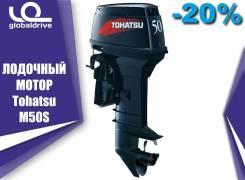 Tohatsu. 50,00л.с., 2-тактный, бензиновый, нога S (381 мм), 2019 год