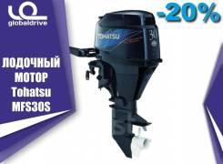 Tohatsu. 30,00л.с., 4-тактный, бензиновый, нога S (381 мм), 2019 год