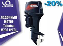 Tohatsu. 70,00л.с., 2-тактный, бензиновый, нога L (508 мм), 2019 год