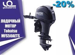 Tohatsu. 50,00л.с., 4-тактный, бензиновый, нога S (381 мм), 2019 год