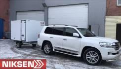 """NIKSEN, 2019. Прицеп - фургон универсальный """"Niksen"""" (7,5 куб), 750кг."""