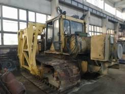 ЧТЗ Т10МБ. Сваебой СП 49 Д на базе трактора Т10МБ