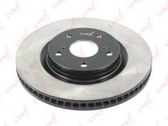 Диск тормозной | перед прав/лев | LYNXauto BN-1169