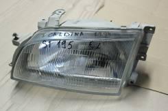 Фара передняя левая toyota caldina, corona 190