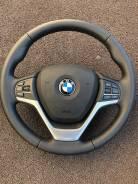 Подушка безопасности водителя. BMW X5, F15, F85 N20B20, N55B30, N57D30, N57D30OL, N57D30S1, N57D30TOP, N63B44, S63B44, B47D20, N47D20, N63B44T3, S63B4...