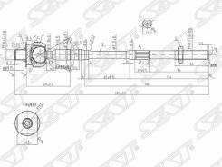 Рулевая тяга NISSAN ST-48521-8H328