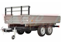 Автомаш. Прицеп легковой двухосный с тормозами грузоподемность 2,5т., 2 500кг.