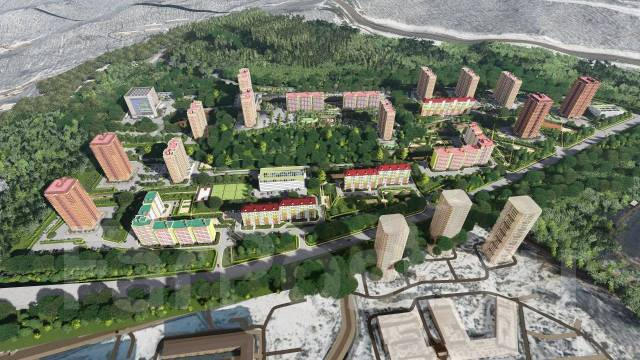"""Помещения для бизнеса в ЖК """"Восточный Луч"""" во Владивостоке. Улица Адмирала Горшкова 79, р-н Снеговая падь, 252кв.м."""