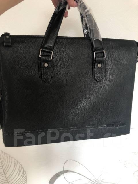 cc495ecbd768 Мужская сумка Giorgio Armani. Натуральная кожа - Аксессуары и ...