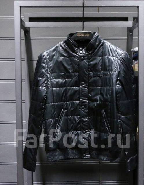 28be34b12ff Куртка мужская ZARA MAN. Черный цвет - Верхняя одежда во Владивостоке