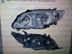 Фара Тойота Королла 06-10 левая