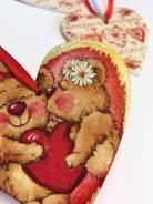 Валентинка сердечко (ручной работы)