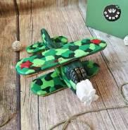 Имбирные медовые пряники. Подарок на 23 февраля. 3Д самолет. Под заказ