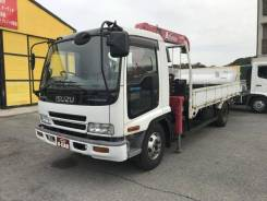 Isuzu Forward. Манипулятор во Владивостоке, 7 200 куб. см., 3 200 кг., 4x2. Под заказ