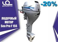Sea-Pro. 15,00л.с., 4-тактный, бензиновый, нога S (381 мм), 2019 год. Под заказ