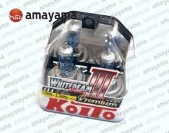 Лампа высокотемпературная Whitebeam Premium, комплект H4 12V 60/5 KOITO P0744W