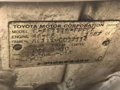 ДВС 4A-FE Toyota Corolla Spacio AE111N