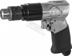 Дрель пневматическая с реверсом 1800 об/мин., патрон 1-10 мм RAD1018 THORVIK