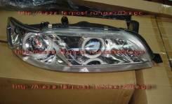 Фары линзовые с ангел. глазками Toyota MARK 2 90 кузов 92-96г., новые