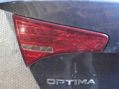 Фонарь крышки багажника левый (б/у) Kia Optima 3 (Magentis 3 TF)