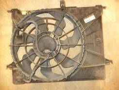 Вентилятор радиатора охлаждения с диффузором (б/у) Kia Optima 2 (Magentis 2 (GE, MG