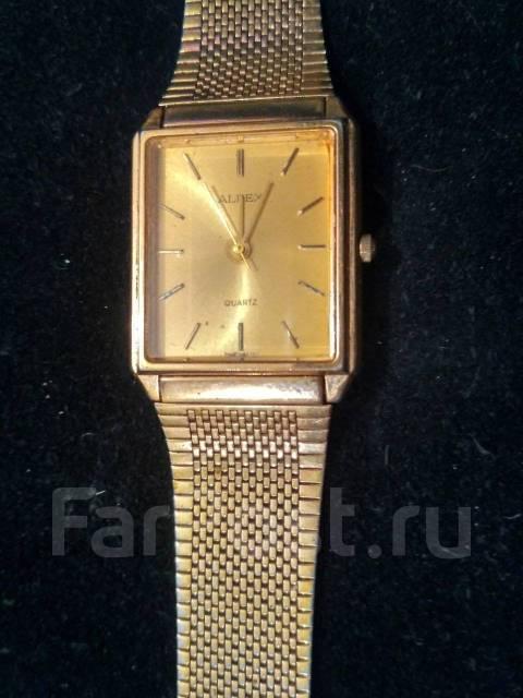 215743a0 Часы Alpex позолоченные Япония - Аксессуары и бижутерия во Владивостоке