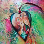 Валентинки сердечки прекрасный подарок на любой праздник!