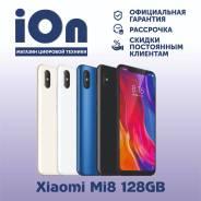 Xiaomi Mi8. Новый, 128 Гб, Синий, Черный, 3G, 4G LTE, Dual-SIM