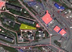 Баляева 17,2 сотки, Ж-4, собственность. 1 726кв.м., собственность, электричество, вода, от частного лица (собственник). План (чертёж, схема) участка