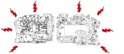 Блок клапанов автоматической трансмиссии. Subaru: Forester, Legacy, Impreza WRX STI, Impreza, Outback, Tribeca, Exiga, Legacy B4 EJ255, EJ20X, EJ30D...