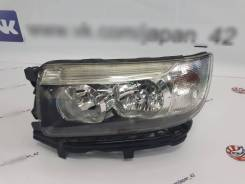 Фара передняя левая рестайл ксенон. темн. Subaru Forester SG5 #1 EJ205