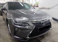 Фары LED Toyota Camry 55 (Камри) 2014-2017г. Стиль Audi