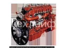 Двигатель метановый Yuchai YC6K420N-50 (YC6K1342N-50) Евро-5 на КамАЗа 6520PG.