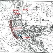 380 соток на реке Сема , у села. 3 800кв.м., собственность