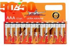 Батарейки LR03/AAA щелочные 12 шт. AAA-12 AIRLINE