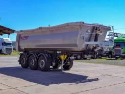 Fliegl. Самосвальный полуприцеп DHKS 350 Light 24м3 новый, 29 400кг.