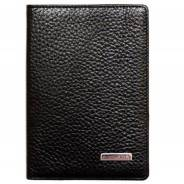 Обложка для паспорта KARYA 9,5*13 см. черн. 093-45
