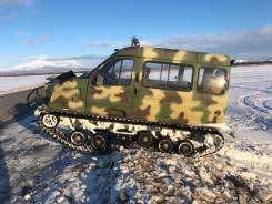 ГАЗ 3409. Плавающий гусеничный вездеход ГАЗ-3409 «Бобр», 2 700куб. см., 600кг., 3 600,00кг.