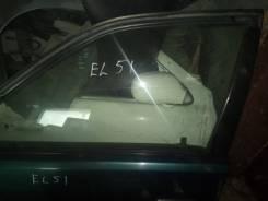 Стекло передняя левая дверь Toyota Tercel EL51, 4EFE