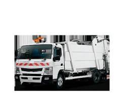 Mitsubishi Fuso Canter. Митсубиши фусо кантер мусоровоз, 4 899куб. см.